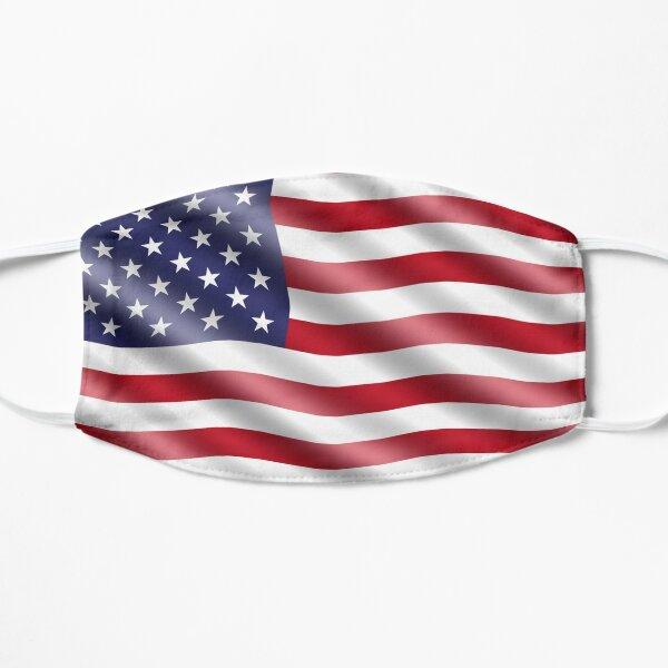 USA Flag Mask Flat Mask