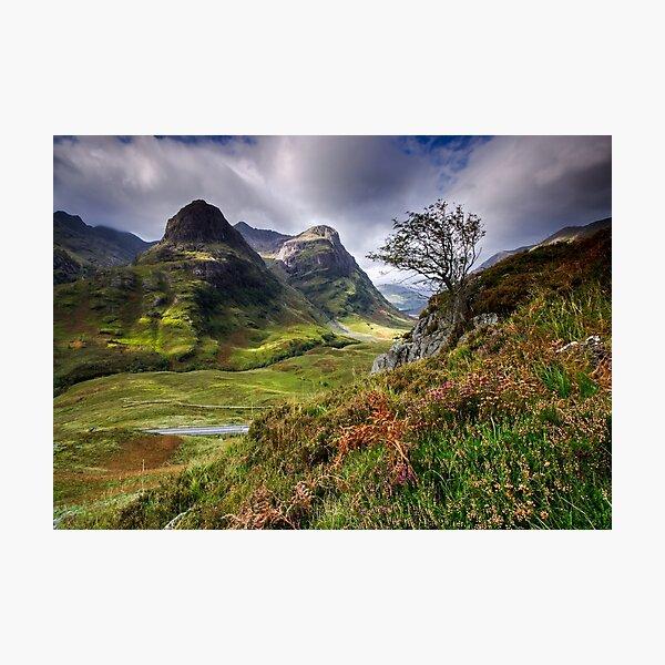 Three Sisters of Glencoe  Photographic Print