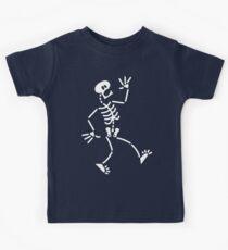 Frightened Skeleton Kids Clothes