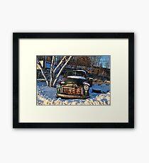 1955 GMC  Pick-Up Truck Framed Print