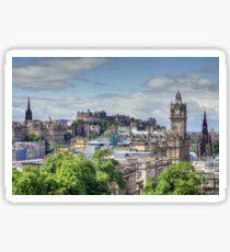 Edinburgh City Centre, Scotland Sticker