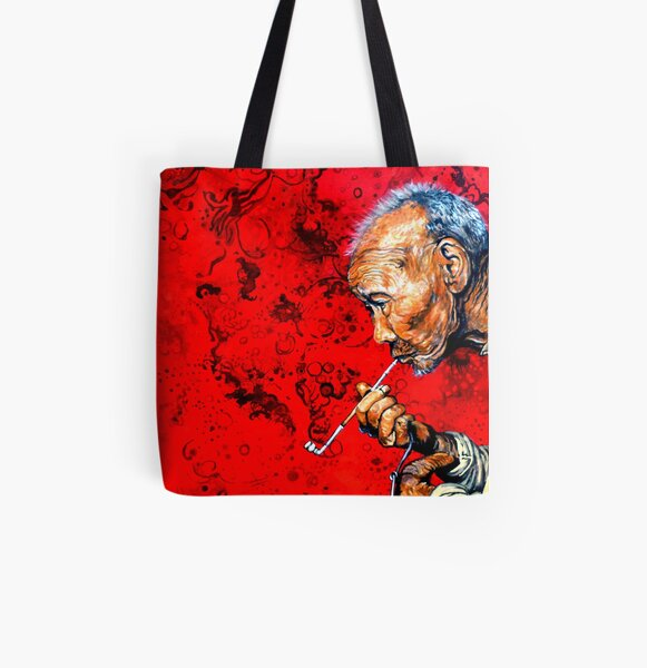 Deep Thoughts All Over Print Tote Bag