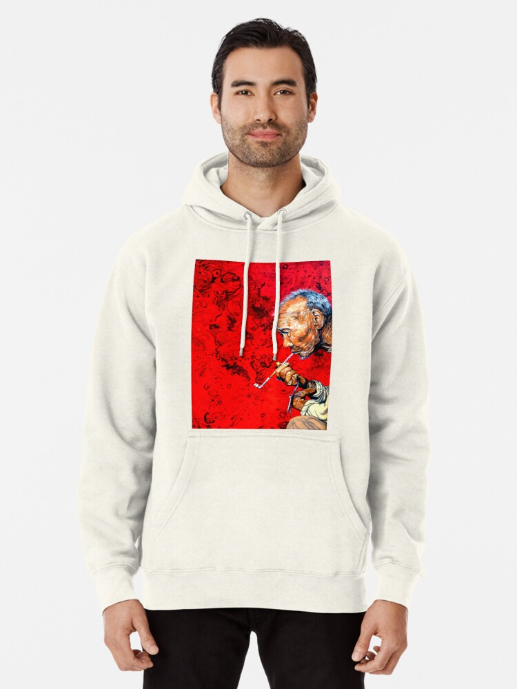 Alternate view of Deep Thoughts Pullover Hoodie