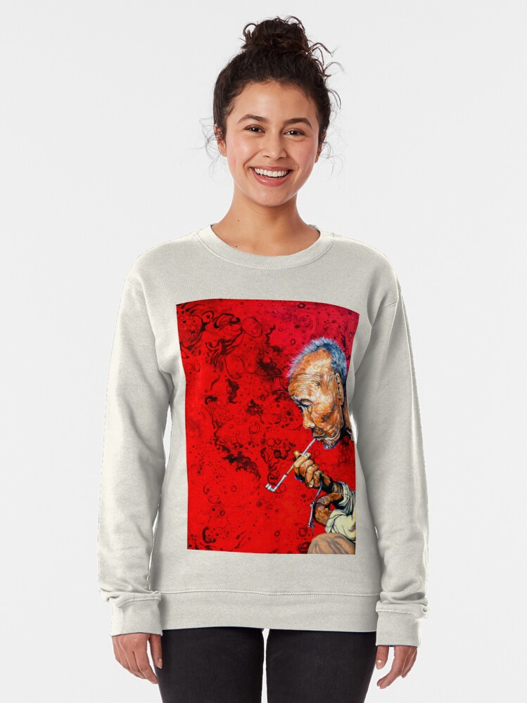 Alternate view of Deep Thoughts Pullover Sweatshirt