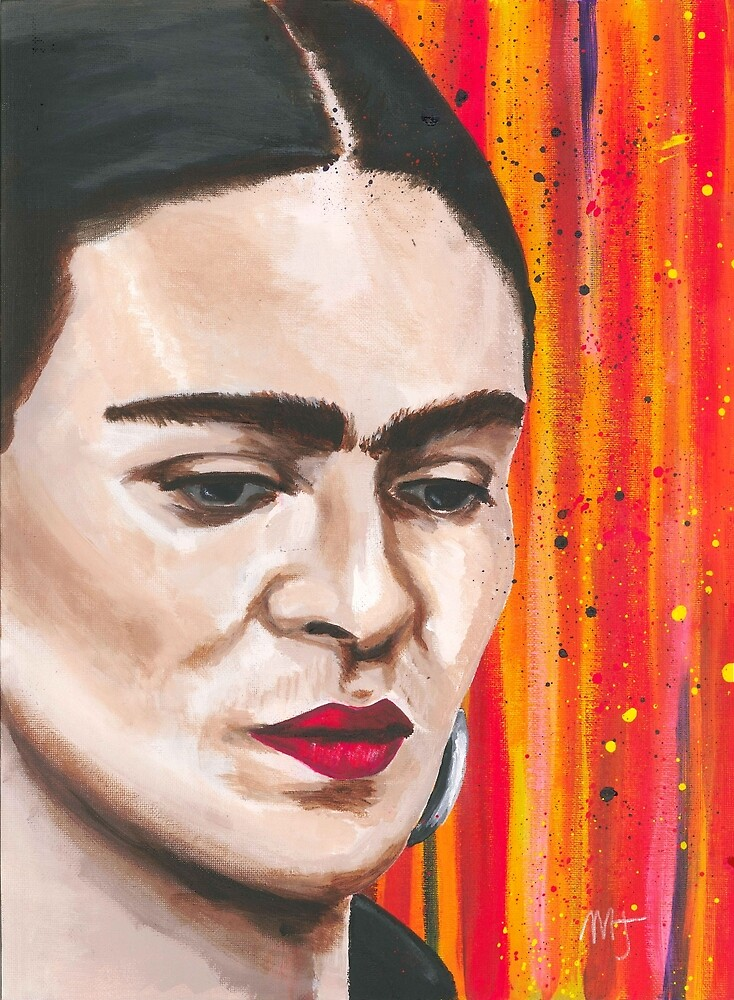 Frida in Colorland by mjviajes