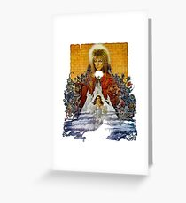 The Labyrinth Greeting Card