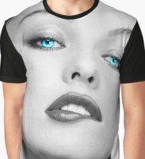 Mrs. Jovovich Graphic T-Shirt