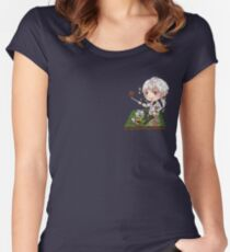 Zen Mystic Messenger Chibi Women's Fitted Scoop T-Shirt