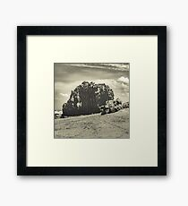 Big Rock at Praia Malhada Jericoacoara Brazil Framed Print