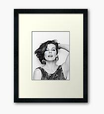 Mrs. Jovovich 2 Framed Print