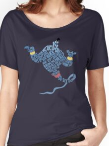 Are you talking to me? - Genie Aladdin Women's Relaxed Fit T-Shirt