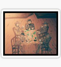 Gambler's Saloon Sticker