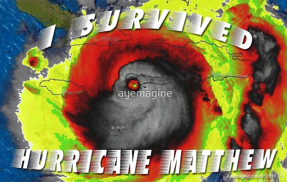 Hurricane Matthew by ayemagine