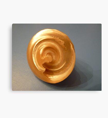 Bottom of a seashell Canvas Print