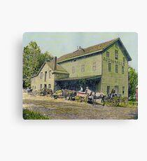 Wadsworth Mill - Avon NY, 1910 Canvas Print