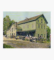 Wadsworth Mill - Avon NY, 1910 Photographic Print