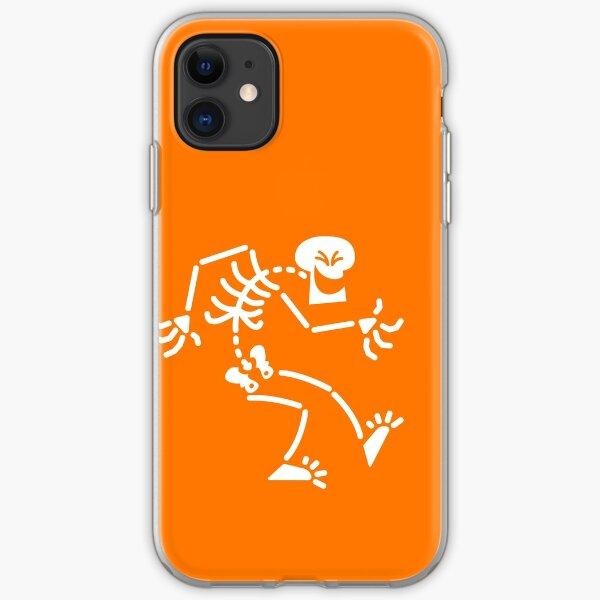 Naughty Skeleton iPhone Soft Case