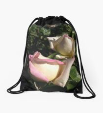 A Couple of Buds Drawstring Bag