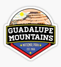 GUADALUPE MOUNTAINS NATIONAL PARK TEXAS Chihuahuan Desert MOUNTAINS 3 Sticker