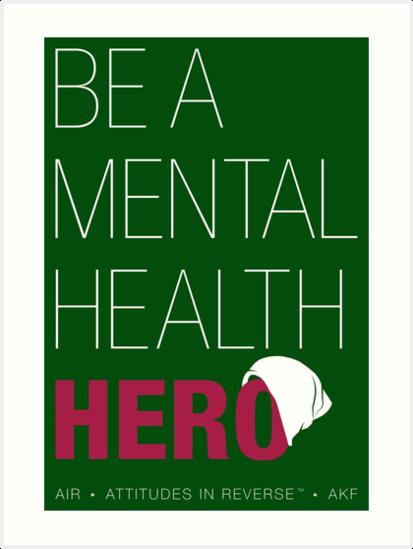 d71a7d06c3c Be A Mental Health Hero - Beanie