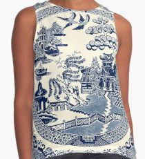 China Blue Willow Contrast Tank