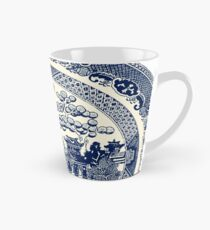 Taza cónica China Blue Willow