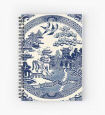 Cuaderno de espiral China Blue Willow