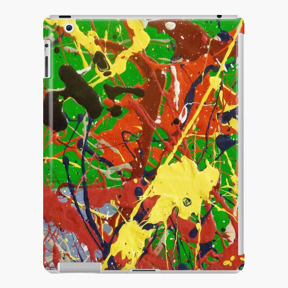 COLORFUL ABSTRACT POPART DESIGN - SPIRALS 2 iPad Case & Skin