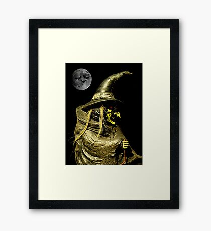 Halloween Night ~ Part Two Framed Print