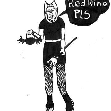 Goth Girl Red Wine by raelanh