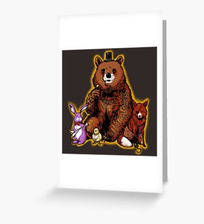 Five Nights in the Forest Greeting Card