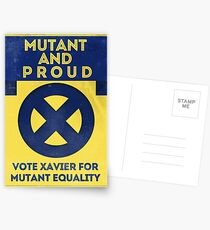 Mutant and proud campaign  Postcards