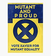 Mutant and proud campaign  Photographic Print