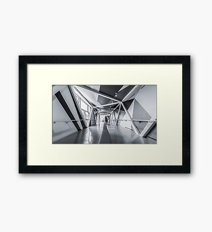 Toronto Skywalk 5 Framed Print