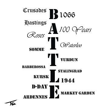 Battles through time by Skyrimjoe