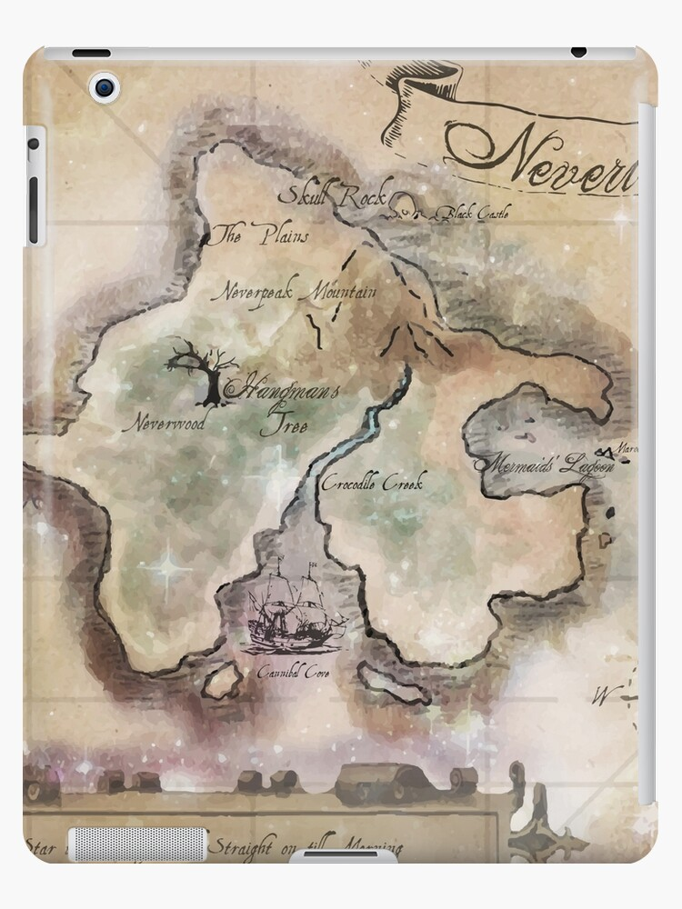 Classic neverland map blanket king size ipad cases skins by classic neverland map blanket king size by sophersgreen gumiabroncs Image collections