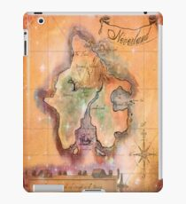 Twin Size Neverland Map iPad Case/Skin