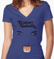 danny brown Women's Fitted V-Neck T-Shirt