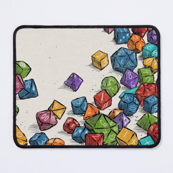 Never enough dice Mouse Pad