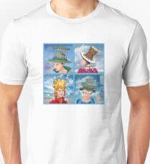 Four Hats Unisex T-Shirt
