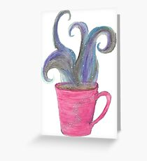 Coffee Mug Greeting Card