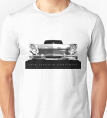 1958 Lincoln Continental - High contrast Unisex T-Shirt
