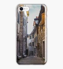 Narrow Street in Old Town iPhone Case/Skin