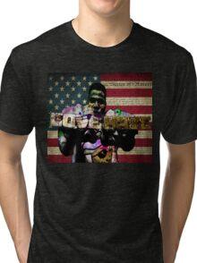 ODE TO Radio Raheem Tri-blend T-Shirt