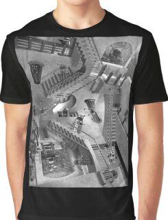 Escher's Asylum of the Daleks Graphic T-Shirt