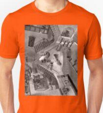 Escher's Asylum of the Daleks T-Shirt