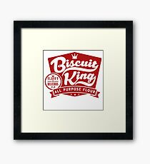 Biscuit King Framed Print