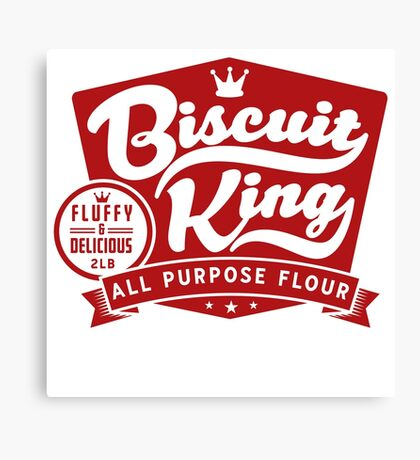 Biscuit King Canvas Print