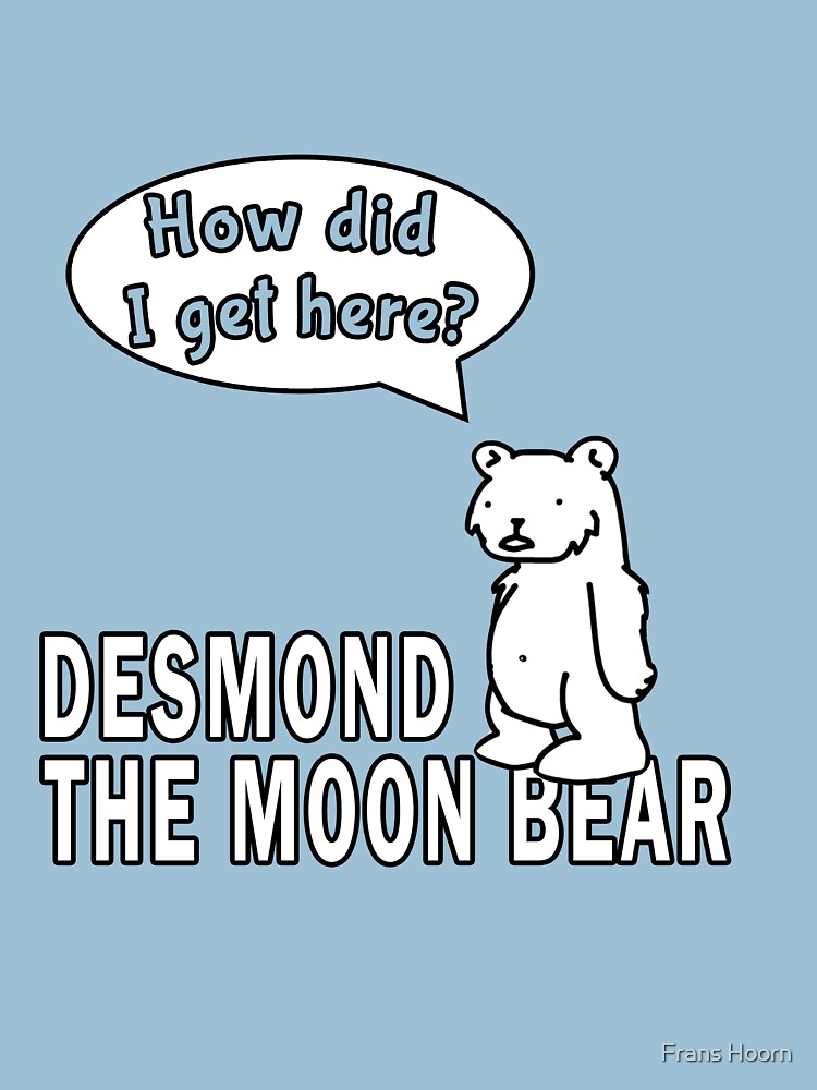 Desmond the Moon Bear | Unisex T-Shirt