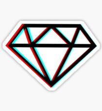 3D Diamond  Sticker